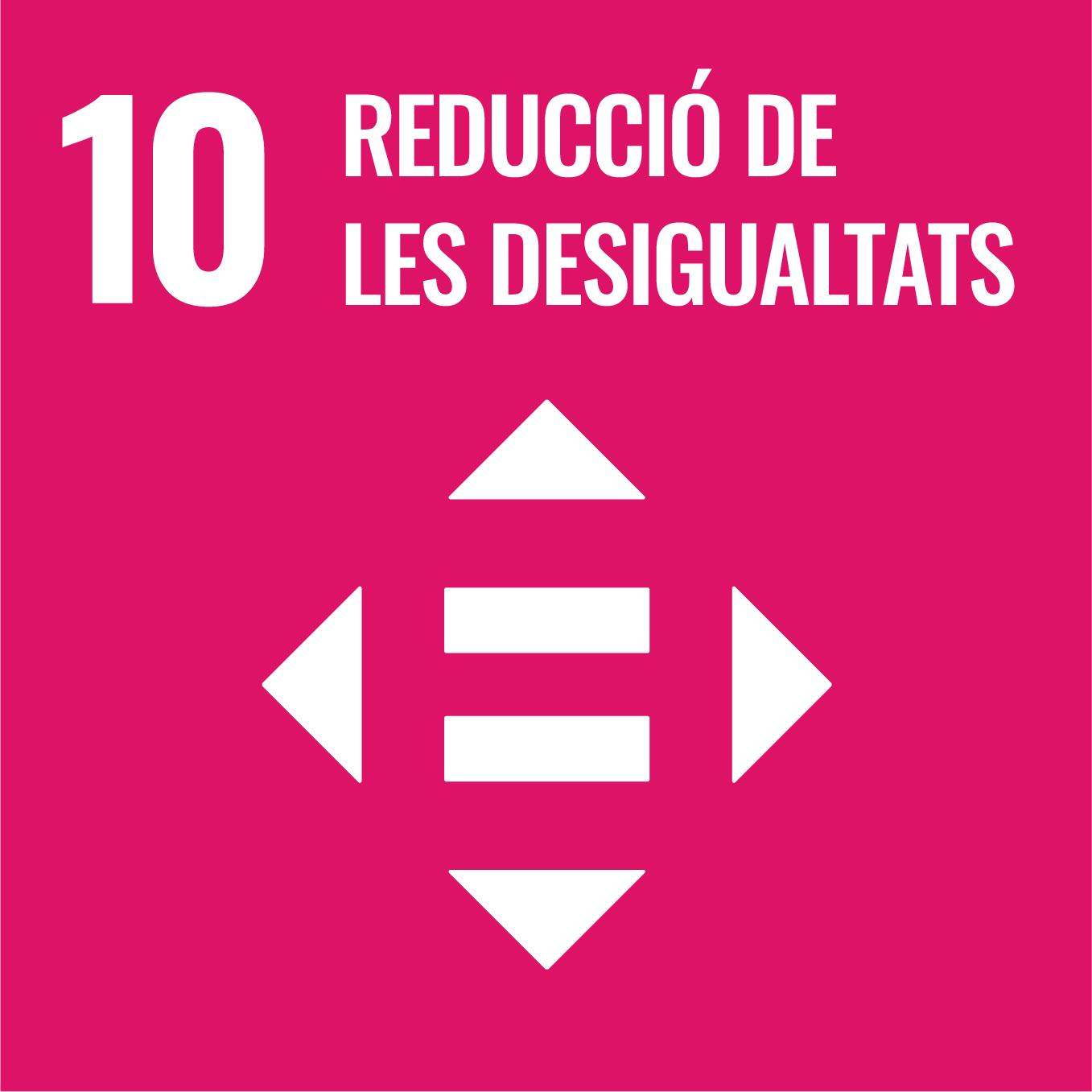 Reducció de les Desigualtats - Objectiu 10