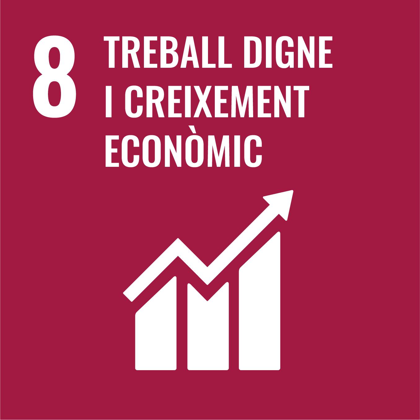 Treball Decent i Creixement Econòmic - Objectiu 8