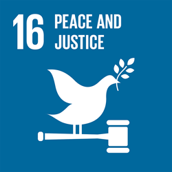Peace and justice - strong institutions - Goal 16