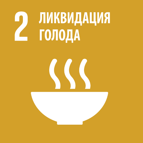 Ликвидация голода - Цель 2