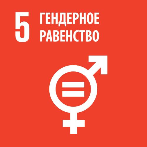Гендерное равенство - Цель 5